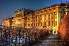Schnbrunn Palace (Matthias Harbers) Tags: schnbrunn vienna wien city photoshop austria europe sony cybershot palace elements labs dxo traveling schloss hdr reise topaz schlossschnbrunn schnbrunnpalace 3xp photomatix tonemapped rx100 flickraward