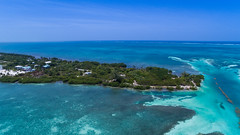 Caye Caulker Split Belize drone