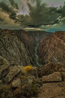 The Gunnison River Storm