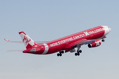 Air Asia X A330 (Martyn Cartledge / www.aspphotography.net) Tags: 330 9mxxu a330 aero aeroplane air airasiax airbus aircraft airfield airline airliner airplane airport aspphotography australia australian aviation cartledge civil flight fly flying jet martyn plane sydney transport wings wwwaspphotopgraphynet wwwaspphotographynet asp photography flywinglets