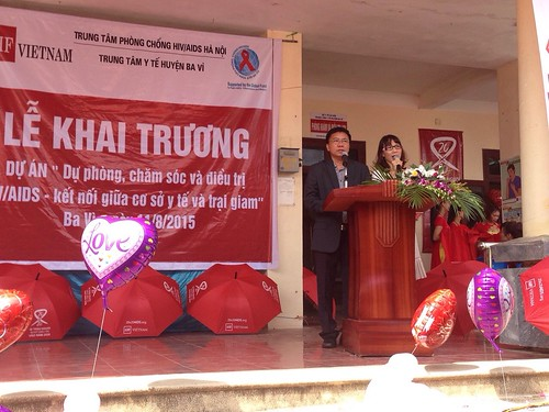 AHF Vietnam Clinic Opening Ceremony