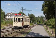 ASVi 9924 - Thuin-Ouest (Spoorpunt.nl) Tags: la à du 16 louvain augustus pur association lobbes dyle 2015 ouest vicinal 9924 asvi thuin sauvegarde buurtspoorwegen