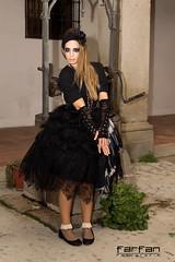 Davinia (jlhuys farfan) Tags: woman girl mujer model chica negro modelo rubia bruja davinia gotica encaje farfan