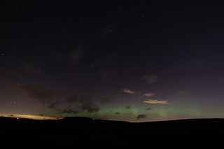 Higger Tor And The Northern Lights