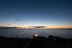 The Night of Ancient Bonfires (OCS82) Tags: sunset sea nature suomi finland outdoors nikon candle meri archipelago luonto auringonlasku kustavi d600 saaristo