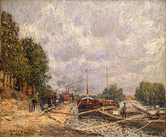 sisley_barges_billancourt_1877 (Art Gallery ErgsArt) Tags: museum painting studio poster artwork gallery artgallery fineart paintings galleries virtual artists artmuseum oilpaintings pictureoftheday masterpiece artworks arthistory artexhibition oiloncanvas famousart canvaspainting galleryofart famousartists artmovement virtualgallery paintingsanddrawings bestoftheday artworkspaintings popularpainters paintingsofpaintings aboutpaintings famouspaintingartists