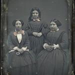 The three ladies of Saint-Ours, from left to right: Caroline Virginia; Josephte Hermine, and Henrietta Amelia / Les trois dames de Saint Ours. De gauche à droite : Caroline Virginie, Josephte Hermine et Henriette Amélie thumbnail