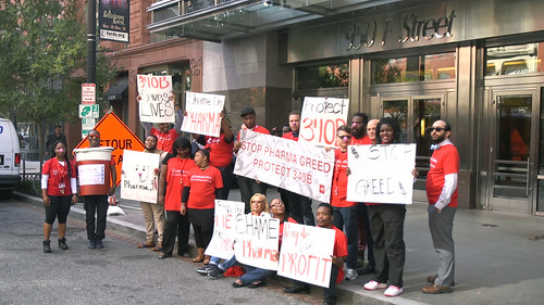 340B Protest at PhRMA