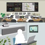 コミュニティエネルギー管理システムの写真