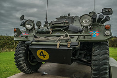 Army thing. (jtokarz2003) Tags: car army transport scout museam anglesey armoured northwales newborough