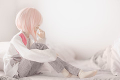 Ammy (mymuffin_15) Tags: pink school cute ball asian doll bjd volks amaranth jointed