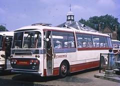 CRN851D (21c101) Tags: standerwick leyland plaxton panorama leylandleopard psu3b4r 1966 oxford busstation 1969 crn851d blackpool ribble leopard