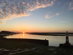 Oct 2015 (tazkanak) Tags: sunset soleil morocco maroc oualidia