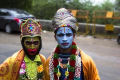 Ram&Hanuman (Shankar J) Tags: mysore chamundi indiastreetphotography streetincolor