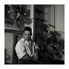 George, 1987 (pete*t) Tags: portrait 120 6x6 film edinburgh kodak tmy rolleiflex35fplanar r0dinal