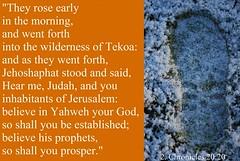 Jehoshaphat stood and said (Jouni Niirola) Tags: god jerusalem your believe yahweh jehoshaphat