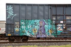 (o texano) Tags: bench graffiti texas houston trains freights natas benching