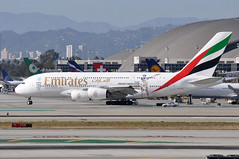 A6-EEQ    LAX (airlines470) Tags: airport emirates a380 msn lax 141 a380861 a6eeq