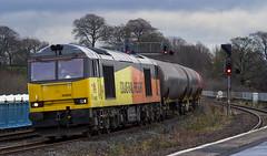 60002 6D61 (Rossco156433) Tags: train scotland br diesel engine loco locomotive tug kilmarnock freight britishrail ayrshire colas dieselelectric class60 60002 eastayrshire brushtraction colasrailfreight