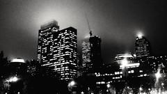 336 | 365: Feeling Dark (phillytrax) Tags: city urban blackandwhite bw usa philadelphia monochrome skyline night america noir cityscape skyscrapers unitedstates pennsylvania foggy pa rainy metropolis philly grayscale metropolitan 215 cityofbrotherlylove project365