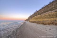 Lake Michigan ... vanishing lines (Ken Scott) Tags: autumn sunset usa fall beach twilight sand december michigan lakemichigan greatlakes hdr bluff freshwater voted leelanau pyramidpoint 2015 45thparallel sbdnl sleepingbeardunenationallakeshore mostbeautifulplaceinamerica
