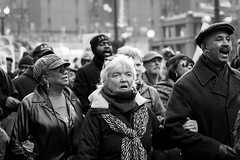 (shawnrowephoto) Tags: light portrait chicago contrast protest streetphotography demonstration act 16shots laquanmcdonald
