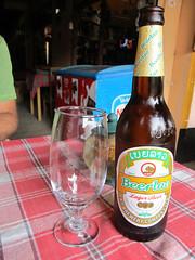 """Houeisai: la BeerLao, une bonne bière très légère. <a style=""""margin-left:10px; font-size:0.8em;"""" href=""""http://www.flickr.com/photos/127723101@N04/23838434206/"""" target=""""_blank"""">@flickr</a>"""