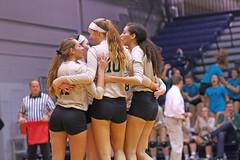 IMG_8369 (SJH Foto) Tags: girls volleyball high school york delone catholic team teen teenager huddle cheer hug