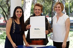 Rosario's UDG Agora Diploma