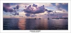 _MG_7248-PanoAnegadaBW (Mike Higginson | frazaz.com) Tags: canon tse24mm boats island twilight dusk seascape anegada bvi sunset sailing anchorage yacht panorama sunsail