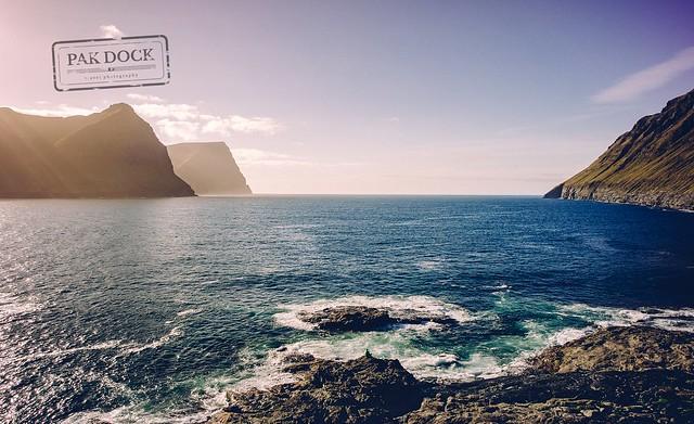 The man in front of Giants - Faroe Islands