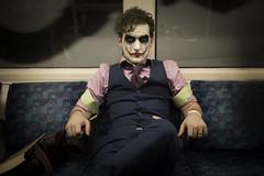 Joker (D Simmonds) Tags: joker comiccon comic con batman villain tube underground london makeup special fx cosplay dress up