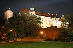 Poland-01439 - Wawel Castle (archer10 (Dennis) 88M Views) Tags: auschwitz krakow poland globus sony a6300 ilce6300 18200mm 1650mm mirrorless free freepicture archer10 dennis jarvis dennisgjarvis dennisjarvis iamcanadian novascotia canada wawelcastle night walls