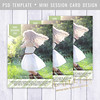 Layered Photoshop Template (daphnepopuliers) Tags: psd photoshop adobe template layered photocard photostudio photography photographer marketing business