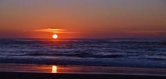 DSC_4211 (mrsdyvz) Tags: sun portugal aveiro nikon d3200 sundown portrait model beach sand sea ocean water waves glasses rock silhouttes horizon harmony sky blue clouds costa nova praia