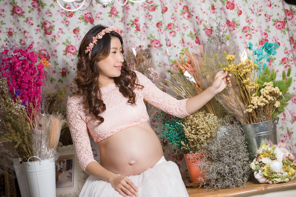 孕婦寫真,孕婦攝影,孕婦棚拍,婚攝卡樂,161217筱琪06