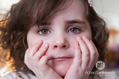[2.365] Life is Heart Shaped (Rich Jankowski) Tags: 2365 brown haired girl canon 5d mkii ef 2470 mmf28 l usm photo day 2017 eyes head hands 365 5d2 bethany face hair portrait pose toddler