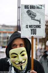 Big brother is watching you (Red Cathedral uses albums) Tags: sonyalpha a77markii a77 mkii eventcoverage alpha sony colorrun sonyslta77ii slt evf translucentmirrortechnology redcathedral streetphotography belgium alittlebitofcommonsenseisagoodthing activism protest occupy anonymous opawakening gent riot mask maskedfaces vforvendetta guyfawkes