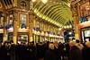 Leadenhall Christmas III (Douguerreotype) Tags: london people uk market gold christmas british street architecture city crowd britain night pub gb urban england
