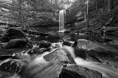 Cherokee Falls (DancingTerrapin) Tags: landscape landscapes water waterfall waterfalls rocks longexposure blackandwhitephotography blackandwhite nature natural movement stateparks georgiastateparks georgiastatepark state park ga winter 2017 saturday