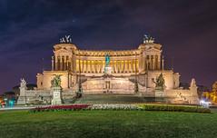 Vittoriano (aurlien.leroch) Tags: vittoriano monumentàvictoremmanuelii rome italie italia roma nikon d7100 cityscape longexposure night