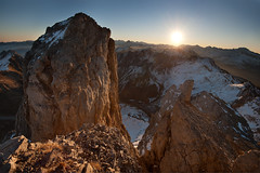 Egunsentia Petrechematik (jonlp) Tags: petrechema ansabere pirinioak pirineos pyrenees natura paisajea nature naturaleza paisaje eguzkia sol egunsentia amanecer dawn winter negua imvierno
