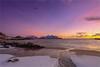 Lofoten scenery (Frank S. Andreassen) Tags: winter lofoten norway nordnorge light nature sky colorful water ocean rocks mountains snow frank andreassen nettfoto
