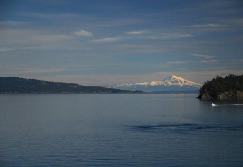Mount Baker from Swartz Bay