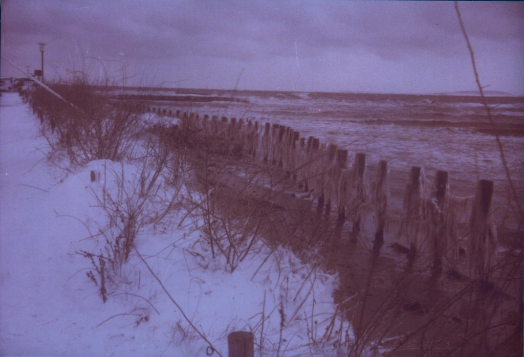 eisiges Hochwasser
