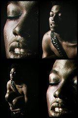 Jermaine (halelinda) Tags: male man portrait studio nude africanamerican strobist profoto lowkey bw multilens lg
