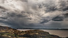 rocky coast, rainy clouds (-liyen-) Tags: newfoundland twillingate clouds rain rainy coastline sky rugged rocky canada summer fujixt1 mpt524 matchpointwinner