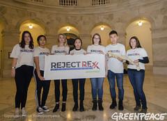 Reject Rexx Activists With A Spine (Greenpeace USA 2016) Tags: tillerson rex donald trump secretaryofstate capitol capital washington dc oil fossilfuel exxon mobile climatechange denier usa