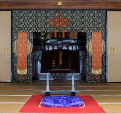 Inside Tofuku-ji Hojo (Tim Ravenscroft) Tags: altar hojo abbot quarters tofukuji kyoto japan buddhist
