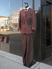 Outdoor purple Caravelli Fusion suit in downtown Ypsilanti. (Tim Kiser) Tags: 2013 20131014 annarbormetropolitanarea annarborypsilanti caravellifusion caravellifusionsuit caravellisuit img3251 michigan michigan17 michiganavenue michiganroute17 morganclothing october october2013 route17 stateroute17 washtenawcounty washtenawcountymichigan westmichiganavenue ypsilanti ypsilantimichigan autumnleaves barbellweight business clothingbusiness clothingshop clothingstore display downtown downtownypsilanti fallenleaves mensclothingshop mensclothingstore necktie paved pavement purplecaravellifusionsuit purplecaravellisuit purplesuit sidewalk sidewalkdisplay southeastmichigan southeasternmichigan stainedclothing stainedsuit stains suit suitandtie suitdisplay suitforsale wetspots windowreflection unitedstates
